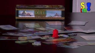 Video-Rezension: 7 Wonders Duel Pantheon