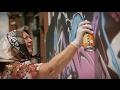 Jangan Ragukan Nenek ini Dalam Membuat Graffiti!!!