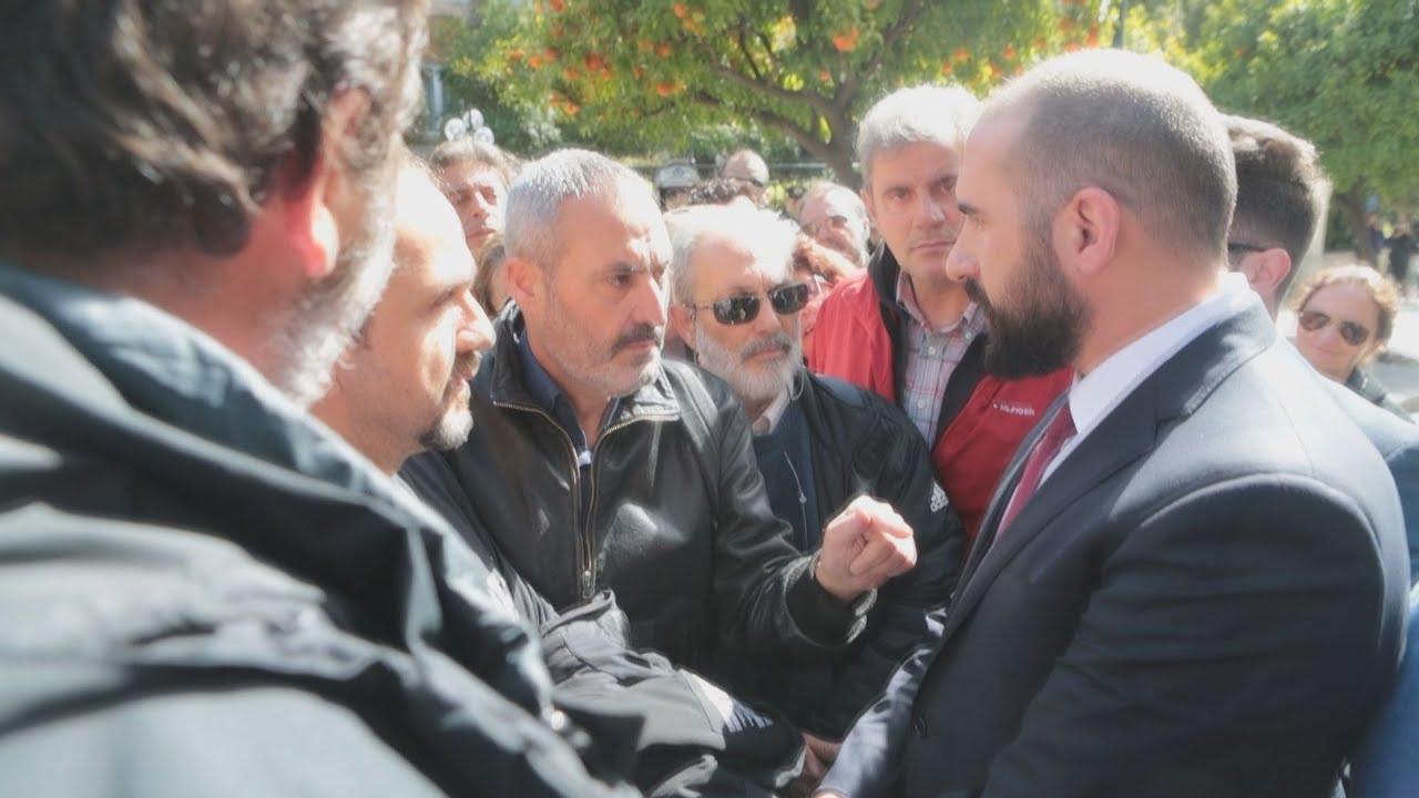 Με εργαζόμενους του MEGA συνομίλησε ο Δ.Τζανακόπουλος