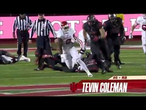 Tevin Coleman 4 Heisman video.