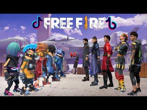 Tik Tok Free Fire ( Tik tok ff ) Slowmo,Lucu,Pro Player,Kreatif, Viral,Sosis vs Ff, Terbaru