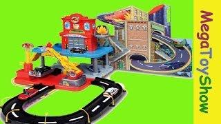 Bburago Fire Street Fire Station Playset toys for boys