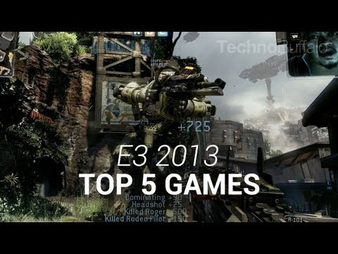 e3 - Top 5 Games from E3 2013 E3 2013 is officially behind us, and now it's time to sit and wait for all the amazing things that we saw over the course of the sho...