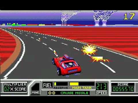 road blaster megadrive