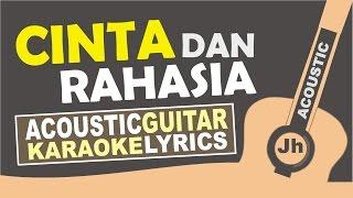 Yura yunita feat Gleen Fredly - Cinta dan Rahasia (Acoustic Karaoke Version)