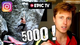 I'M BACK ! Bouldering Clips + Announcements (5000 Subscriber Q&A, Instagram, Channel Name, EpicTV) by Mani the Monkey