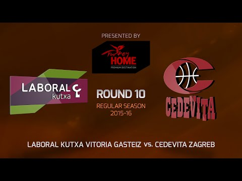 Highlights: RS Round 10, Laboral Kutxa 92-70 Cedevita Zagreb