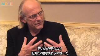 """『バック・トゥ・ザ・フューチャー』の""""ドク"""" クリストファー・ロイド来日会見"""