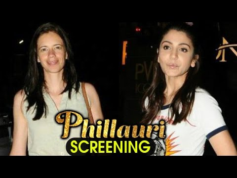 Anushka Sharma And Kalki Koechlin At Phillauri Scr