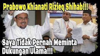 Video Prabowo Khi anati Rizieq Shihab dan Ulama Radik al, serta Meraupi Mukanya dengan To kai? MP3, 3GP, MP4, WEBM, AVI, FLV Februari 2019