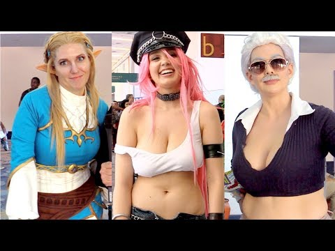 Cosplayer 90s Trivia Challenge (WonderCon 2017)