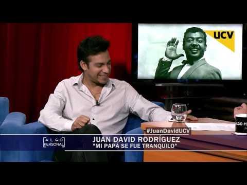 video Juan David Rodríguez se emociona al recordar a su padre