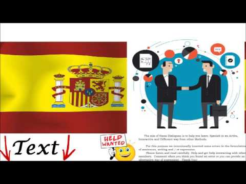 Spanish Dialogue Business Meeting = Encuentro de negocios - Listening, Speaking, Understanding
