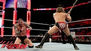 Daniel Bryan vs. Randy Orton -- No Disqualification Match: Raw, March 17, 2014