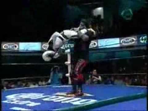 史上最複雜的摔跤招式