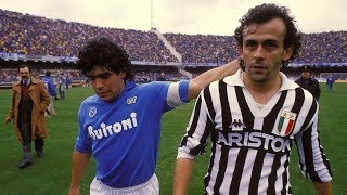 Video Michel Platini Vs Maradona 1986 - Juventus x Napoli MP3, 3GP, MP4, WEBM, AVI, FLV Juni 2018