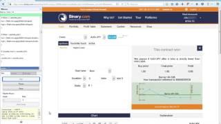 ML BOT BINARY – HI-LO – BR-06-2017 - TRABALHANDO EM FOREX + Rápido + Prático + Eficiente - Martingale * Auto...