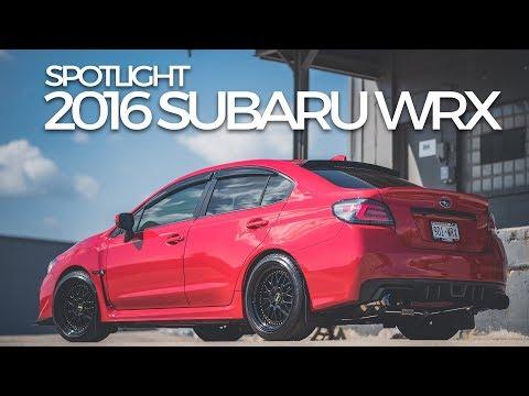 2016 Subaru WRX on ESR SR01's