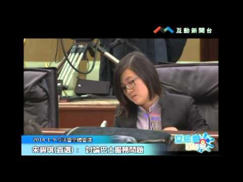 宋碧琪20140109 立法會議