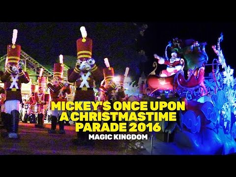 Mickey's Once Upon A Christmastime Parade 2016 at Magic Kingdom