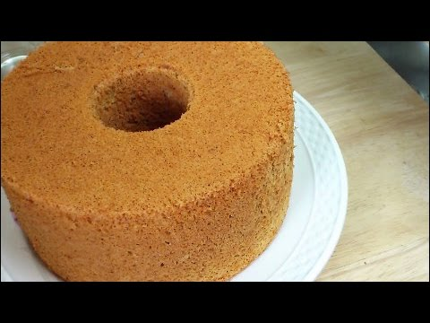 Chiffon - Recipe: http://kitchentigress.blogspot.sg/2013/07/orange-chiffon-cake-video-recipe.html Invented in America in 1927, chiffon cake is still popular today the ...