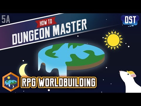 RPG Worldbuilding - How to Dungeon Master Series (видео)
