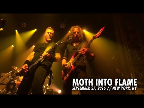 Metallica: Moth Into Flame (Webster Hall, New York, NY - September 27, 2016)