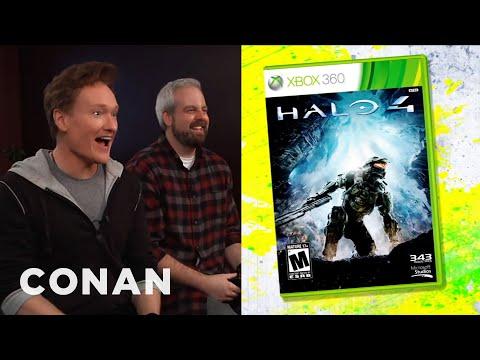 Conan recenzuje hru Halo 4