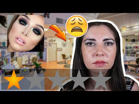 Me Maquillé En El PEOR Salón De Belleza De La Región || I Went To The WORST Reviewed Make Up Artist