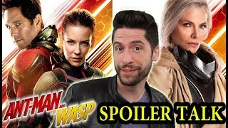 Video Ant-Man and the Wasp - SPOILER Talk MP3, 3GP, MP4, WEBM, AVI, FLV Oktober 2018