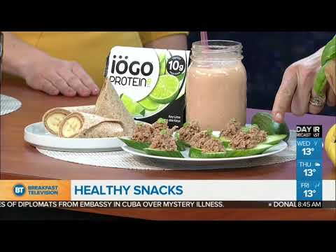 The benefits of healthy snacking