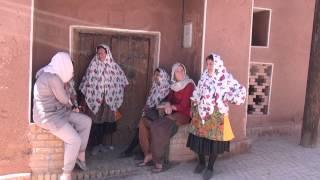 Tradicional localidad de Abyaneh en Irán