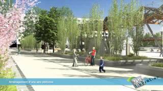 Annemasse France  city photos : VILLE d'ANNEMASSE - Une nouvelle place de la Libération en 2012 - Réalisation LIMPID NOVAMOTION