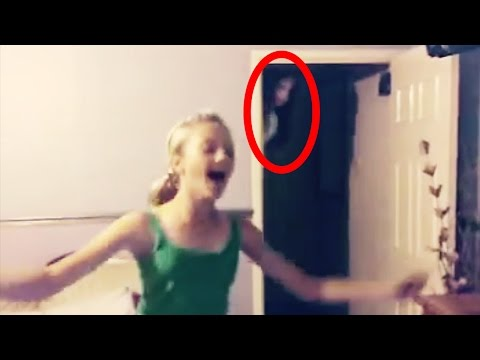 10 raccapriccianti fantasmi ripresi su videocamera!