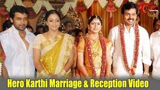 Video Hero Karthi Marriage & Reception Video MP3, 3GP, MP4, WEBM, AVI, FLV Maret 2019