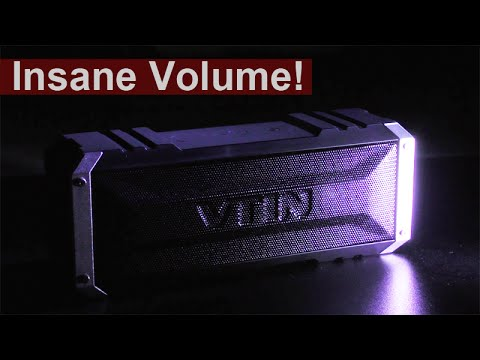 Insane Volume At This Size! - VTIN 20W Bluetooth Speaker Review