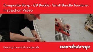 Cordstrap | 2b Composite Strap + CB Buckle + Small Bundle Tensioner