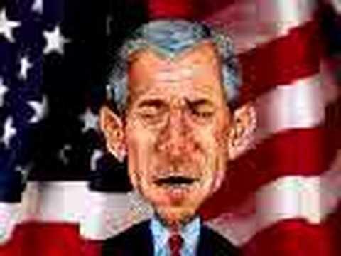 بوش والغمد بعد أحداث سبتمبر