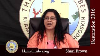 Restoration 2016 - What Does Restoration Mean to You? - Shari Brown
