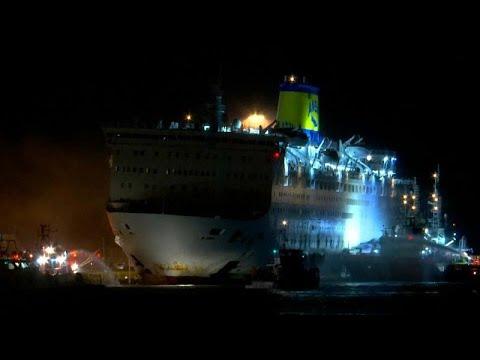 Ολονύχτιο θρίλερ για τους 875 επιβάτες του πλοίου «Ελ. Βενιζέλος»…