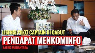 Video LICENSI PILOT CAPTAIN VINCENT DI CABUT - PENDAPAT MENKOMINFO Bapak Rudiantara MP3, 3GP, MP4, WEBM, AVI, FLV September 2019