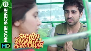 Nonton Ayushmann acts like a Aam Aadmi - Shubh Mangal Saavdhan Film Subtitle Indonesia Streaming Movie Download