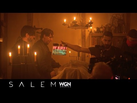WGN America's Salem Season 3: Marilyn Manson Behind The Scenes
