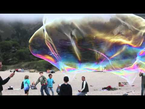 Bubbles - Bubble-smith Sterling Johnson on Stinson Beach Canon 550D T2i test footage music by incompetech.com stinson beach bubbles canon 550d t2i test footage double ...