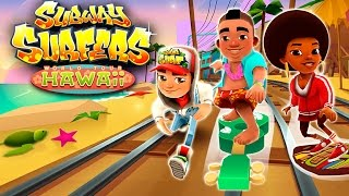 Join the Subway Surfers World Tour in Hawaii! Download for free on Android, iOS, Windows 10 and Kindle Fire right here: http://bit.ly/SubSurfFBSubway Surfers World Tour - Hawaii:★ Travel to fantastical Hawaii on the Subway Surfers World Tour★ Dash through a Subway surrounded by old shipwrecks and rivers of lava★ Unlock the Ukulele board and take a playful ride through the island Subway★ Explore the Hawaiian jungle on the amazing Tiki board★ Pick up mysterious Tiki masks in the Weekly Hunts to earn great prizesDownload for FREE on:Android:http://bit.ly/SubSurf_GooglePlayiOS:http://bit.ly/SubSurf_AppStoreWindows 10:http://bit.ly/SubSurf_WPstoreKindle Fire:http://bit.ly/SubSurf_Amazon