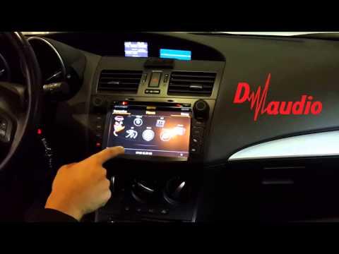 Штатное головное устройство Mazda 3 2009-2013