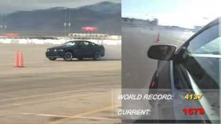 [0-60] Vaughn Gittin Jr. World Record Drift Attempt
