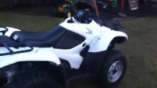 10. 2009 Honda Rancher 420 EFI w/ power steering ( FOR SALE ) i