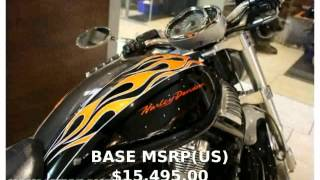 9. 2006 Harley-Davidson VRSC Street Rod Specification, Review