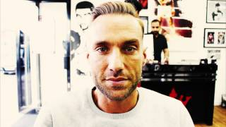 Calum Best Gets Haircut at Kings Barbers Club in Wylde Green